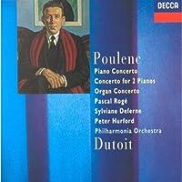 Poulenc;Piano Concerto/Orga