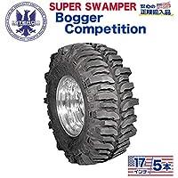 [ INTERCO TIRE ]タイヤ5本 super swamper スーパースワンパー Bogger Competition ボガーコンペディション42.5x13.5/17 バイアス