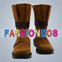 ★サイズ選択可★男性27.5CM UA0559 ログ・ホライズン シロエ コスプレ靴 ブーツ