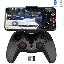 Call of Duty Mobile Controller, Delta essentials Bluetooth/2.4G Wireless PUBG Mobile Controller Gamepad for iPhone/iPad/iOS/Android OS/PC/Steam/PS3