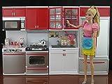 バービー ドリームガールズ 豪華システムキッチンセット バービー、ジェニー、ブライスなど1/6ドール用
