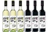 ドイツのAmazonサイトで高評価! 高コスパに納得デイリーワイン 赤・白6本セット 750mlx6[ドイツ/Amazon.co.jp限定/Winery Direct]