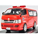 CAR-NEL 1/43 TOYOTA HIACE DX 5Door FIRE COMMAND CAR 2007 大阪市消防局消防指揮車両