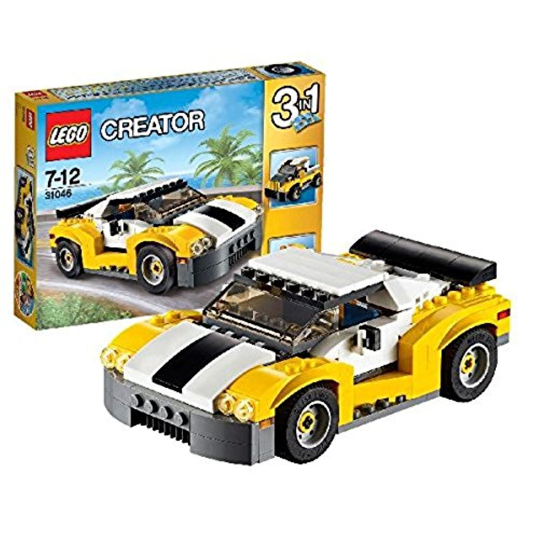 レゴ (LEGO) クリエイター スポーツカー<イエロー> 31046