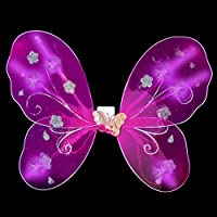 LED Pink Butterfly Wings Light Up by CoolGlow [並行輸入品]