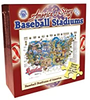 Baseball Stadiums 550 Piece Jigsaw Puzzle [並行輸入品]