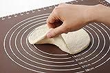 製菓マット 食品級シリコーン 樹脂 マット 目盛り付きマット パンマット 調理 製菓道具 クッキングマット シリコンマット ECO 梱包