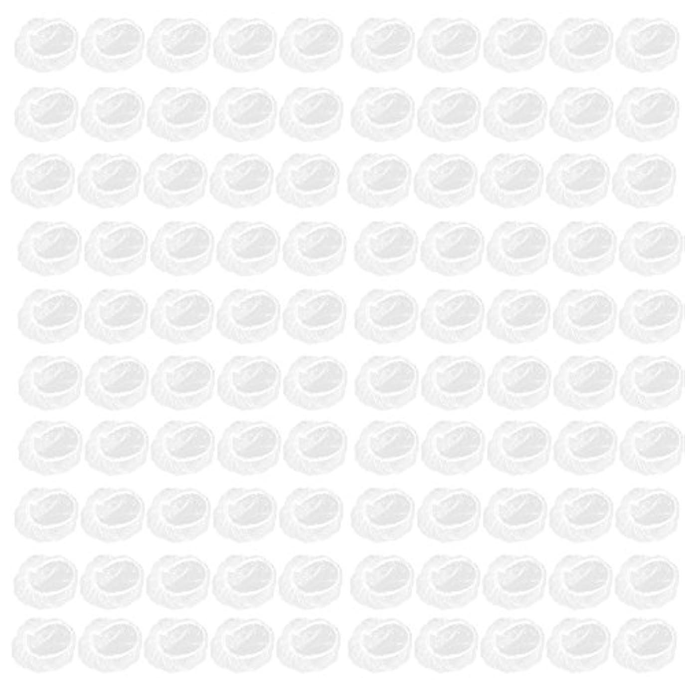 トピックトピック前文Decdeal 耳カバー 100個 使い捨て耳覆い サロン ヘアドレッシング 防水 耳プロテクター ヘアダイシールド 保護 耳 保護ツール