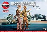 エアフィックス 1/76 アメリカ陸軍航空軍 USAAF人員 プラモデル X-0748V