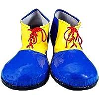 Forum Novelties Children's Sized Clown Shoes, Blue and Yellow, Small by Forum Novelties [並行輸入品]