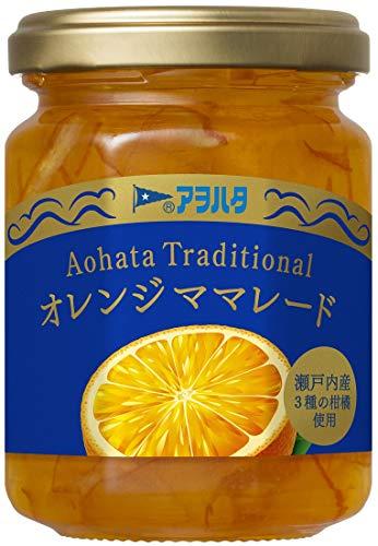 アヲハタ トラディショナルオレンジママレード 160G 3個
