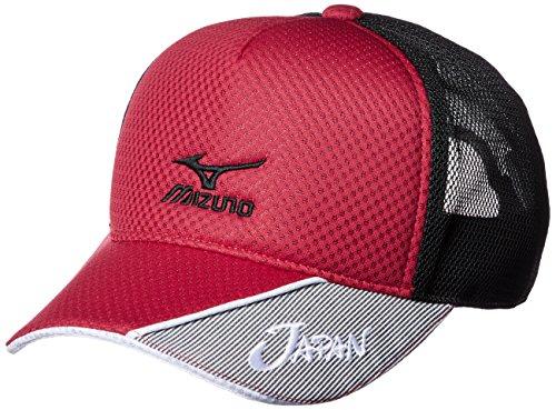 ミズノ 17年ソフトテニス日本代表応援キャップ 62JW7X0162(Men's)