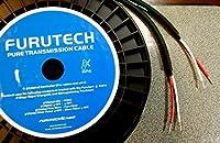 FURUTECH スピーカーケーブル μ-2t(端末処理済みカスタム品) (2.0m×2本)