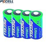 4x cr123aリチウム3Vフォトリチウム電池