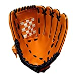 野球用品 ピッチャー用 投手用グローブ 野球グローブ グラブ ソフトボール手袋 ・グローブ 左手用 12.5インチ(ブラウン)