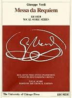 Messa Da Requiem (Works of Giuseppe Verdi: Piano-Vocal Scores)