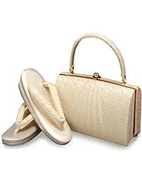 (キステ)Kisste 留袖 礼装用 草履バッグセット <ローブデコルテ> 日本製 7-4-03857