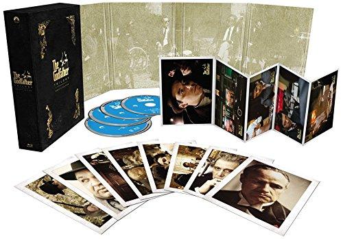 ゴッドファーザー45周年記念ブルーレイBOX TV吹替初収録特別...[Blu-ray/ブルーレイ]