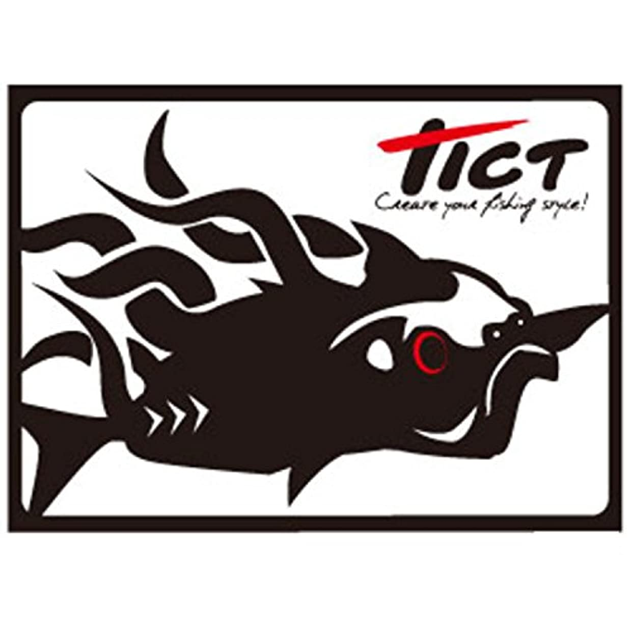 重大ご近所ペアTICT(ティクト) TICT ティクト フィッシュグラフィックステッカー アジ