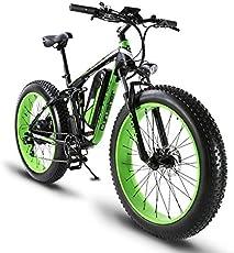 Cyrusher XF800 ファットバイク アシスト自転車 17×26インチ マウンテンバイク1000W 48V13An アルミフレーム FATBIKE迫力の極太タイヤ スノーホイール