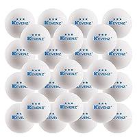 [KEVENZ]KEVENZ 3Star Plus 40mm Table Tennis Balls Z-US-BS-WHITE50-2 [並行輸入品]