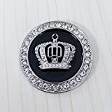 Crystal Princess Crown Car Emblem, Car Exterior & Interior Bling Car Accessories, Car Decoration Decal Sticker, Car Bling Acc