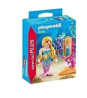 Playmobil Mairmaid with Mirror and Decoration 9355 Playmobil special plus Item [並行輸入品]