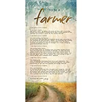 Born to Be a Farmer by Marla Rae – 12 x 24