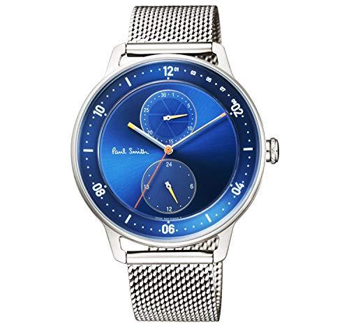 Paul Smith ポールスミス メンズ 腕時計 クロノグラフ チャーチストリート Church Street ブルー/シルバー BH2-014-71 [並行輸入品]