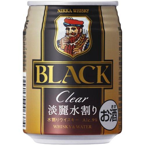 ブラックニッカクリアブレンド&ウォーター 缶250ml