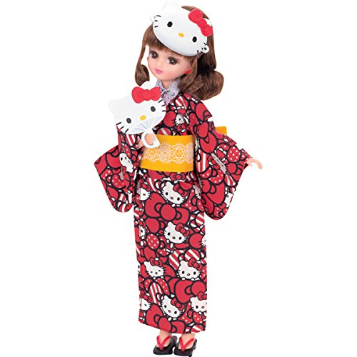 リカちゃん ドレス ハローキティ だいすき リカちゃんゆかたセット