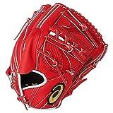 アシックス(asics) 野球 軟式ジュニアグローブ 大谷翔平選手デザイン連動モデル 3124A144 レッド&ホワイト 大(28cm)