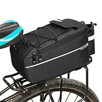 Lixada1 断熱トランク クーラーバッグ 温冷両用 自転車 リアラック 収納 荷物 反射 MTB バイク パニアバッグ
