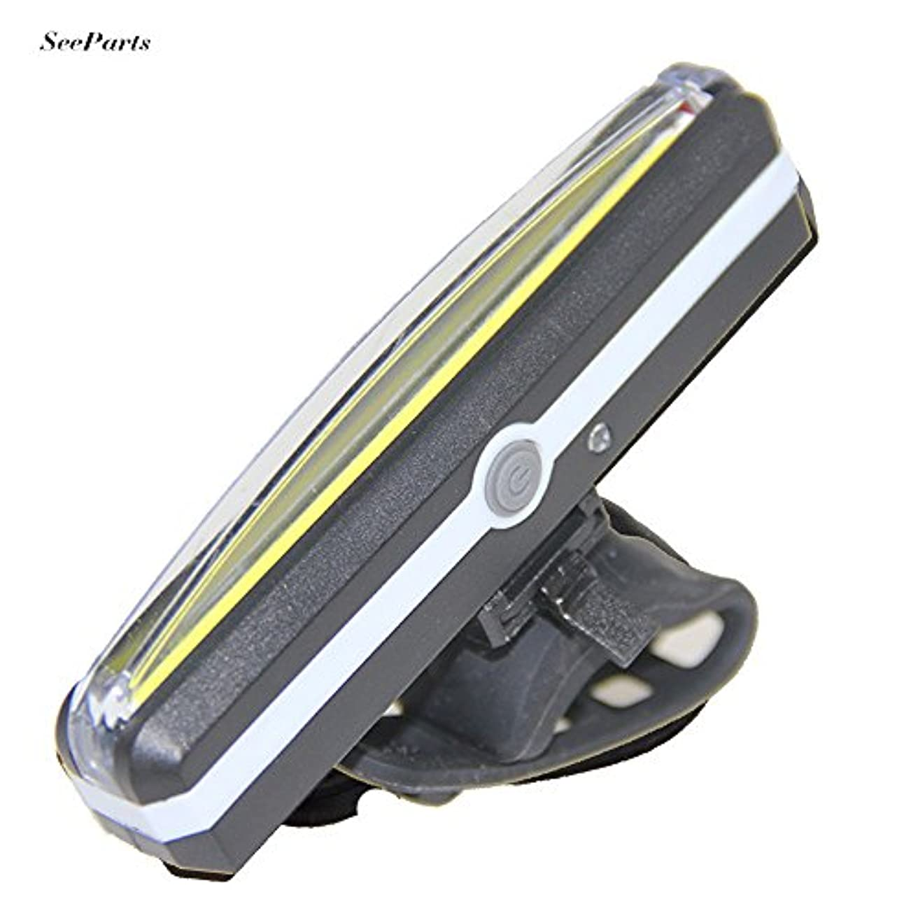 展開するありそうフォージ自転車用テールライト LEDライト サイクルセーフティライト テールランプ 警告灯 夜間用 防水 USB充電式 6モードランプ 4種の光に選択 SPS-015