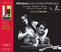 Offenbach: Les Contes d'Hoffmann (Domingo/Malfitano/Murray/Van Dam/VPO/Levine, 1981) by Placido Domingo (2009-11-20)