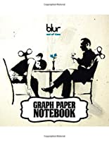 """Notebook: Blur English Rock Band The Lo-Fi Style of American Indie Rock Groups US Mainstream Hit """"Song 2"""" Single. Notebook for Writting: 110 Pages, 8.5"""" x 11"""". Soft Glossy with Ruled lined Paper for Taking Notes."""