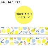 chobit witマスキングテープ果物kudamono (CW-184)Masking tape