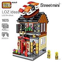 LOZ お店ブロック 子供おもちゃ屋 建物 ブロック ミニ寿司料理屋モデル Sushi Shop Block 積み木 子供の知育玩具