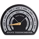 ストーブ サーモメーター 温度計 マグネット式 薪ストーブ/ガスストーブ ストーブモニター アクセサリー