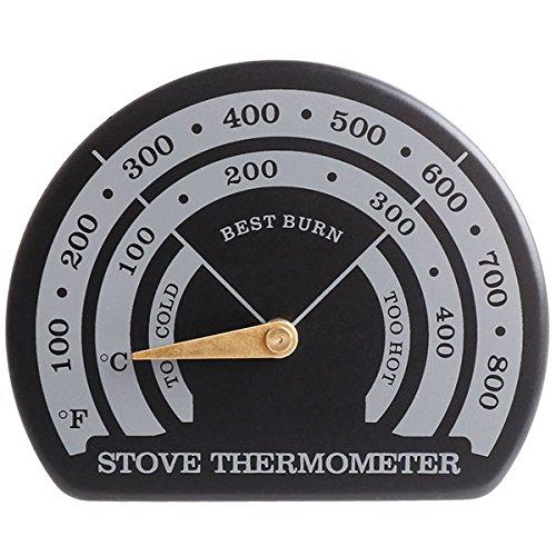 ストーブ サーモメーター 温度計 マグネット式 薪ストーブ/...