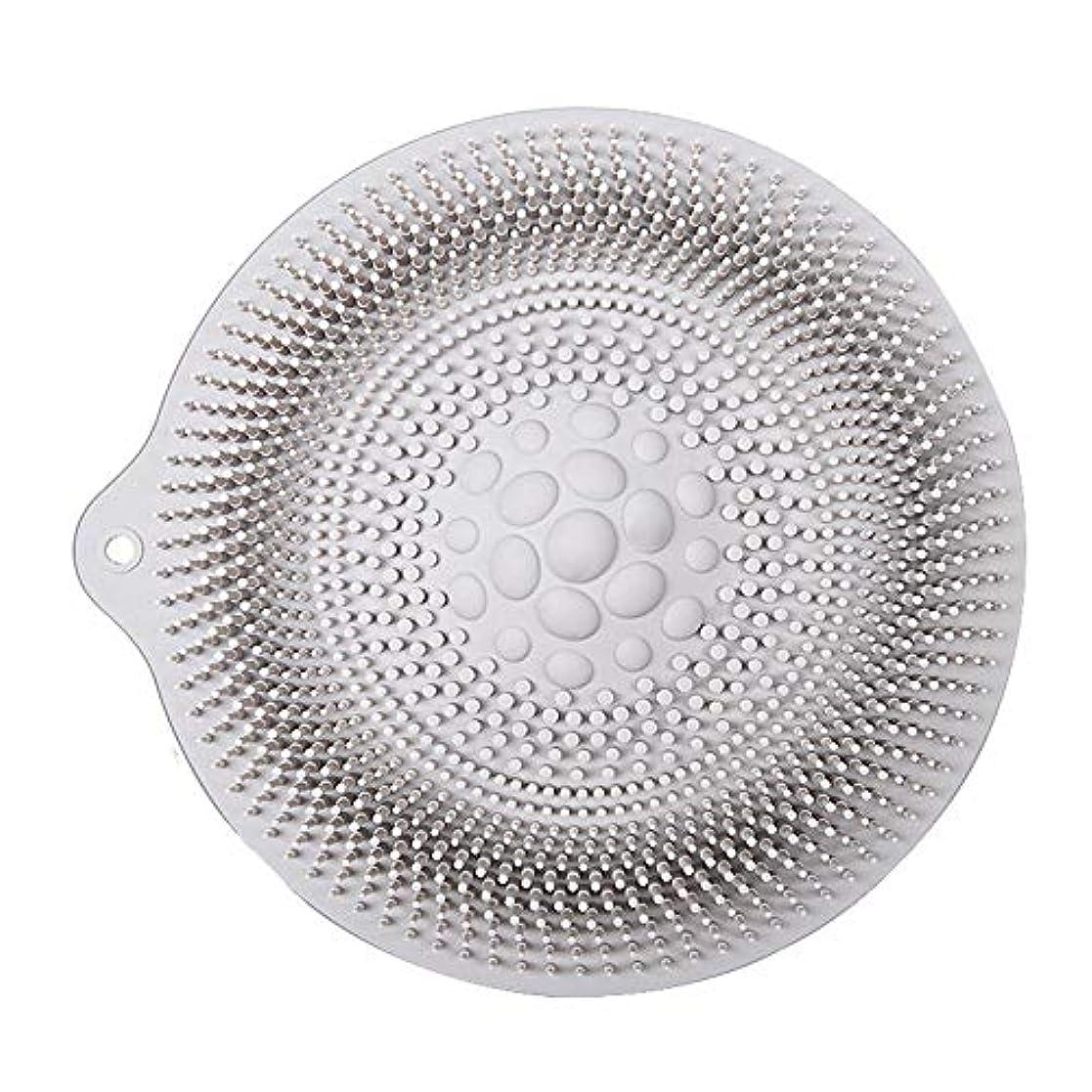 合併症ジョージハンブリー香水足洗いマット 安全 非毒性 無臭 多機能 グレート 使いやすい フットケア ボディブラシ マッサージシート お風呂用 32cm