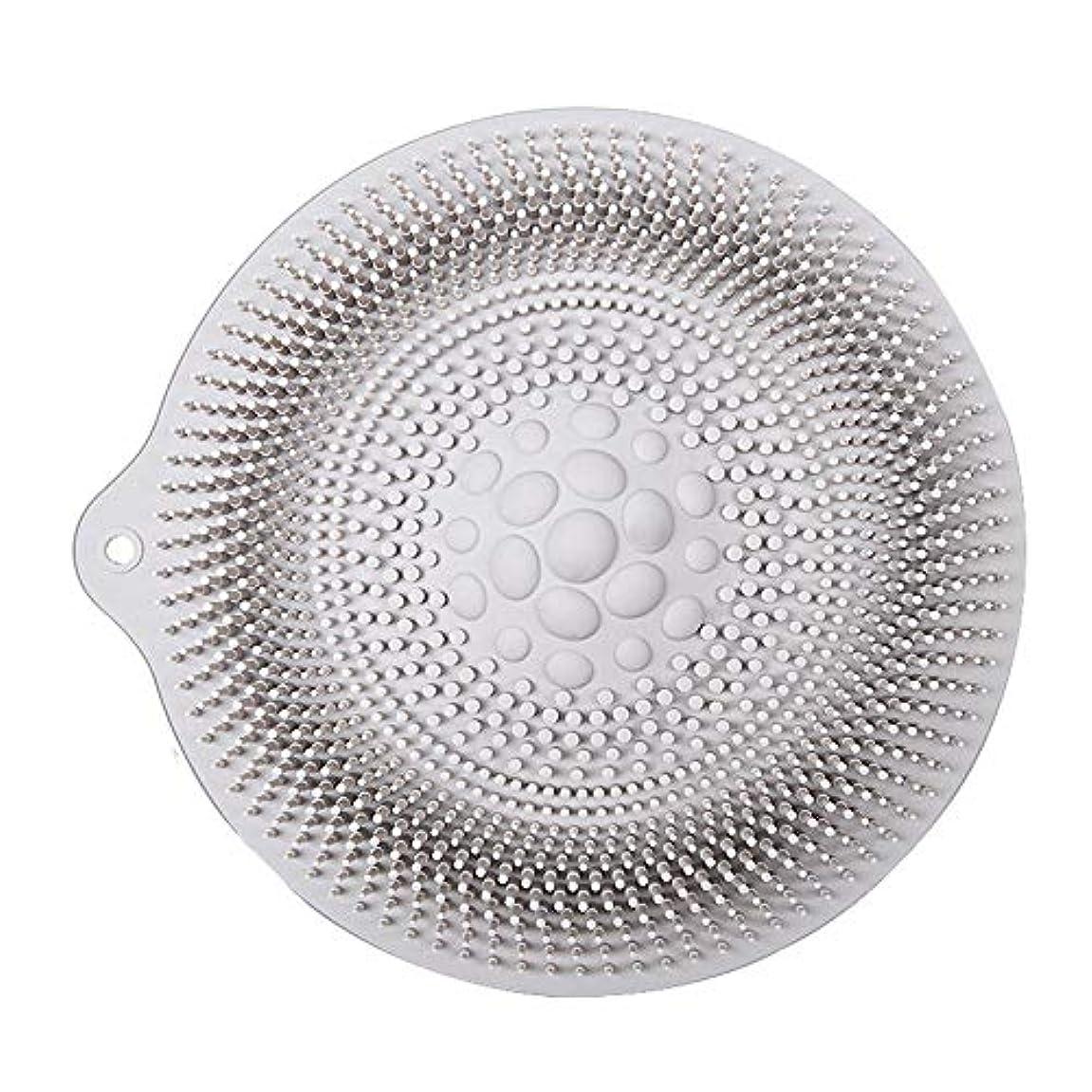 後悔全能腸足洗いマット 安全 非毒性 無臭 多機能 グレート 使いやすい フットケア ボディブラシ マッサージシート お風呂用 32cm