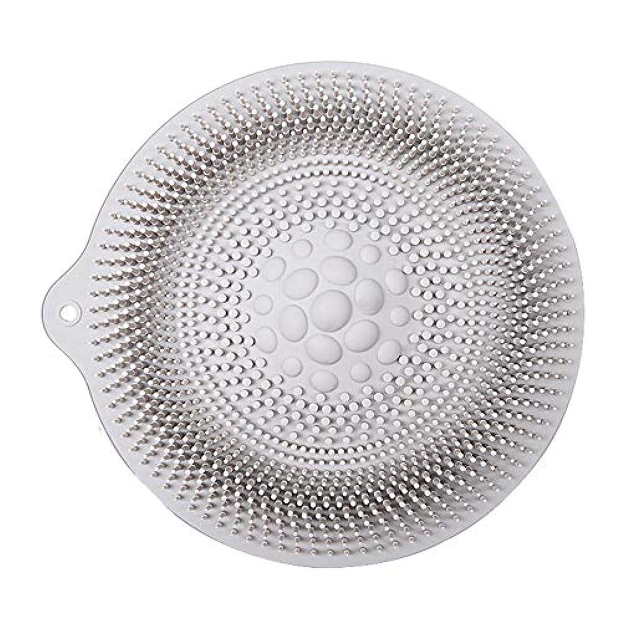 偏差気絶させる解釈的足洗いマット 安全 非毒性 無臭 多機能 グレート 使いやすい フットケア ボディブラシ マッサージシート お風呂用 32cm