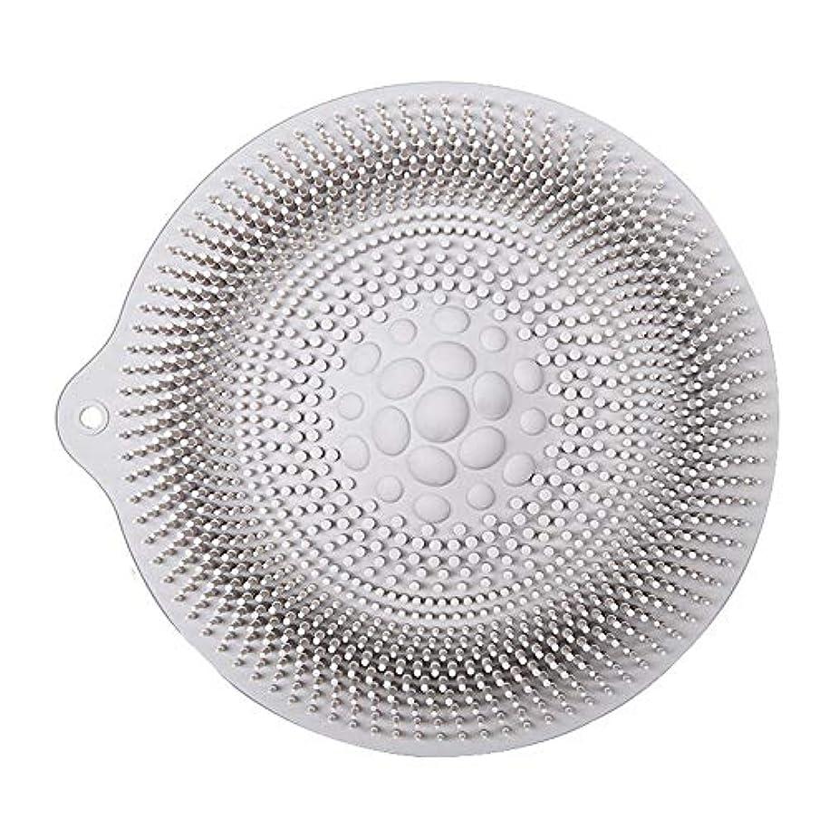 ペデスタルベスト鳥足洗いマット 安全 非毒性 無臭 多機能 グレート 使いやすい フットケア ボディブラシ マッサージシート お風呂用 32cm