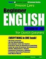 Preston Lee's Beginner English Lesson 41 - 60 for Dutch Speakers