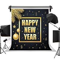 Happy New Year Backdrop 2019 セレブレーション 背景 写真スタジオ小道具