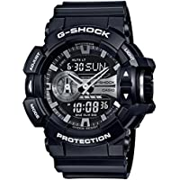 Casio G-Shock Black / Silver Analogue/Digital Men's Watch GA400GB-1A GA-400GB-1ADR
