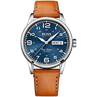Hugo Boss Men 1513331 Year-Round Analog Quartz Brown Watch
