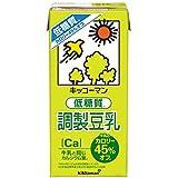 キッコーマン 低糖質調製豆乳 1000ml ×6本【牛乳のカロリー45%OFF】