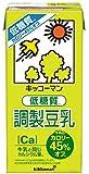 キッコーマン飲料 低糖質調製豆乳 1000ml ×6本